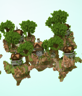 Skywars Jungle Render
